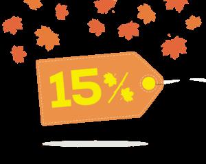 Akcija - dodatnih 15% popusta