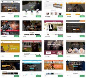 SitePad teme